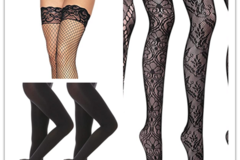 Buy Now: Ladies' Assorted Fashion Socks & Stockings