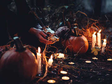 Selling: Halloween SPECIAL: 3 Wishes for the price of 2! Candle Work Magic
