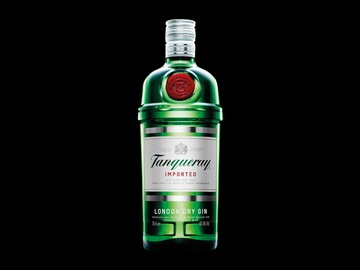 Physical product : Ginebra Tanqueray london dry 750-ml