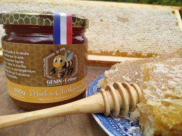 Les miels : Miel de châtaignier