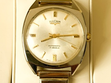 Online payment: Vulcain automatic watch 70's