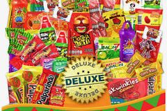 Liquidation/Wholesale Lot: 86 Count Mexican Candy Mix Assorted