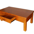 For Sale: CLASSIC Solid Wood 1 Drawer Coffee Table----Two Colors