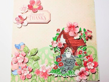 Selling with online payment: 3D Greeting card