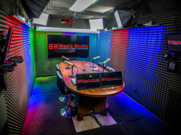 Rent Podcast Studio: BK Media Studio