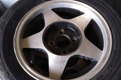 Selling with online payment: Mustang rims