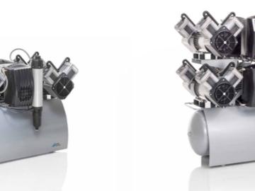 Nieuwe apparatuur: Durr Dental compressoren bij Gerl VDB