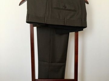 Online payment: Scabal trousers, 100s fabric - W34