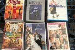 Buy Now: 18 DVD's Family Doubtfire, Annie, Bodyguard, Greek Wedding More