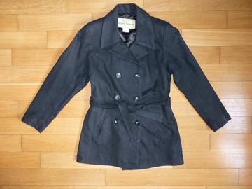 Vente: Veste caban en cuir femme état neuf T1
