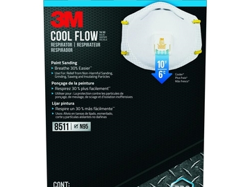 Compra Ahora: AUTHENTIC 3M 8511 N95 DISPOSABLE RESPIRATORS 2 BOX LOT, RET PACK