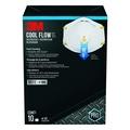 Buy Now: AUTHENTIC 3M 8511 N95 DISPOSABLE RESPIRATORS 2 BOX LOT, RET PACK