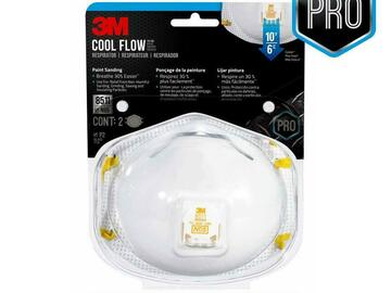 Compra Ahora: AUTHENTIC 3M 8511 DISPOSABLE N95 RESPIRATOR FACE MASKS-2pk RETAIL