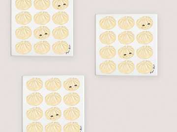: Dumplings coasters