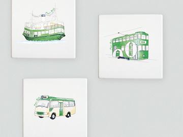 : Public transport Hong Kong style coasters