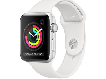 For Rent: Apple Watch Series 3 Silver Aluminium Case (42mm)