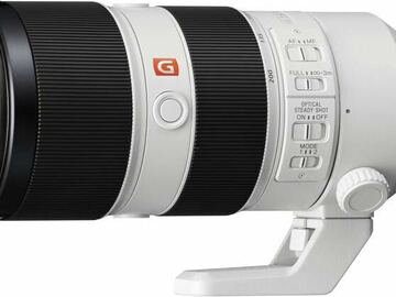 Vermieten: Sony FE 70-200mm f/2.8 GM OSS Full Frame E-Mount