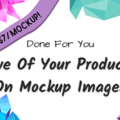 Offering online services: Five Of Your Products on Mockups