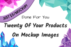 Offering online services: Twenty Of Your Products on Mockups