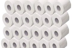 Liquidation/Wholesale Lot: 96 Rolls 2ply Toilet Paper