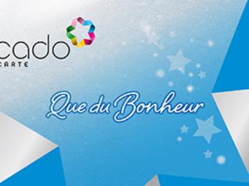 """Vente: Carte """"CADO carte"""" multi-enseignes (300€)"""