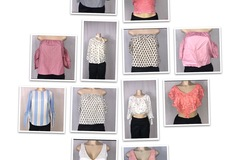 Buy Now: Ladies tops 144 pieces