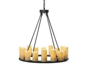 Selling with online payment: Pendant Lamp Candle ight Round 16-Lite