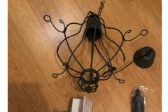 Selling with online payment: Appelviken Chandeler 4 armed Ceiling Lamp from Ikea