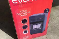 For Rent: gas battle heater