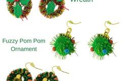 Buy Now: 36 Pairs of Christmas Earrings