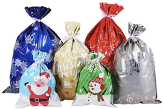 Liquidation/Wholesale Lot: 30 pc Assorted Christmas Wrapping Bags