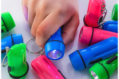 Buy Now: 48 Pc Assorted Colors Keychain Flashlights