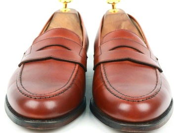 Selling with online payment: Shipton & Heneage 'Wilton' burnished loafers UK 9G fit 9.5E