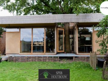 .: Aanbouw in houtskelet | door SPIB Houtbouw
