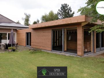 .: Renovatie & aanbouw in houtskeletbouw | door SPIB Houtbouw