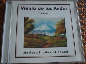 """Vente: CD """"Viento de los Andes"""" - Volume 2"""