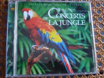 """Vente: CD """"Concerts de la jungle"""""""