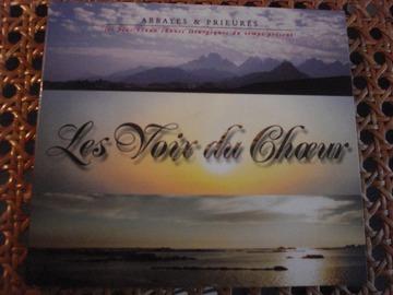 """Vente: CD """"Les voix du choeur : Abbayes & Prieurés"""""""