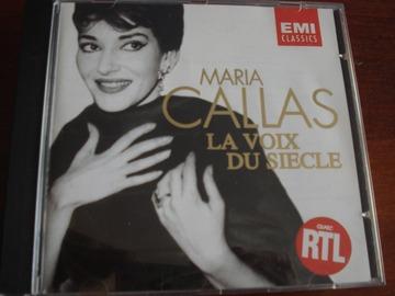 "Vente: CD Maria Callas ""La voix du siècle"""