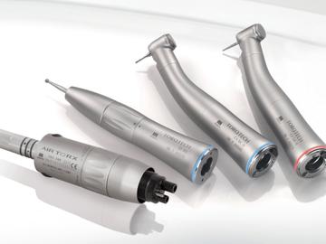 Nieuwe apparatuur: Morita hoekstukken en turbines bij e-dental