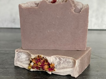 Selling: Dark Rose Shea Butter Soap