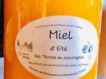 Les miels : Notre Miel d'Eté