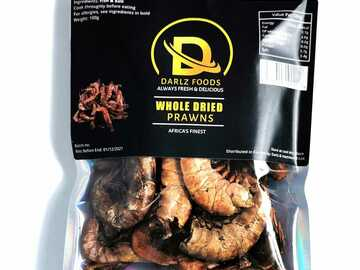 For Sale: Whole Prawn 100g