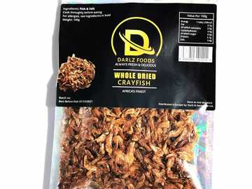 For Sale: Whole dried crayfish 100g
