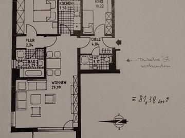 Tauschobjekt: 3 ZKBB gegen Haus in/um 30880 Laatzen