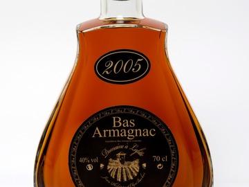 Vente avec paiement en ligne: Armagnac 2005 Carafe