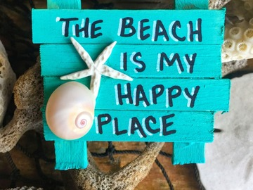 Selling with online payment: Beach Themed Fridge Magnets