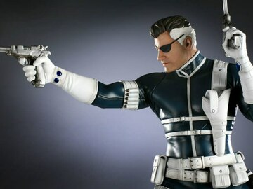 Individuals: Nick Fury Comiquette Exclusive