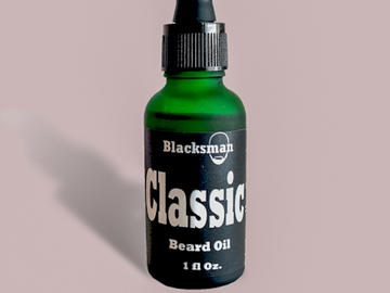 Selling with online payment: Classic Blend Beard Oil | Blacksman Beard Company