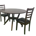For Sale: CHELSEA 1.22m Round Dining Table And Chairs--5PCS